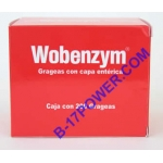 Wobenzym Pancreatic Enzymes Box, of  200pills